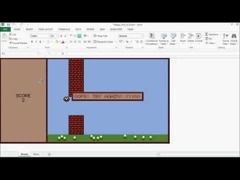 Excel Vba Flappy Kuş