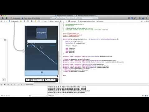 Sdk Ios Ve Xcode Öğretici Ayrıştırma