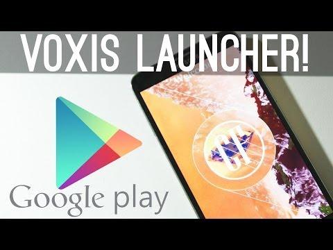 Voxis Launcher App Oyun Saklamak İçin Geliyor!