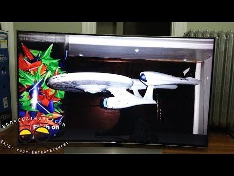 Samsung Hu9000 Eğri Uhdtv 4K Unboxing Ve Kurulum [4 K]