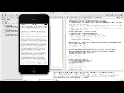 Corelocationmanager Ve Mapkit Xcode İçinde