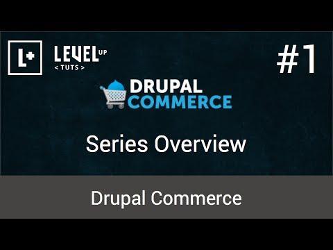 Drupal Ticaret Öğreticiler #1 - Serisi Genel Bakış