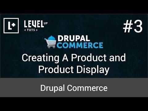 Drupal Ticaret Öğreticiler #3 - Bir Ürün Ve Ürün Görüntü Oluşturma