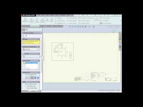 Nasıl Centermarks Solıdworks Öğreticileri (Çizimler) Oluşturmak İçin