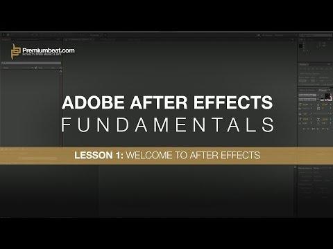 Adobe After Effects Temelleri 1: After Effects Hoş Geldiniz