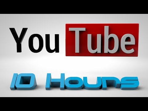 10 Saat-İn Video Adobe Effects Youtube İçin Kayıt.