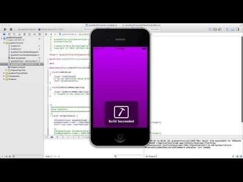 Uıview Cagradientlayer İle Xcode Degrade Ekleme
