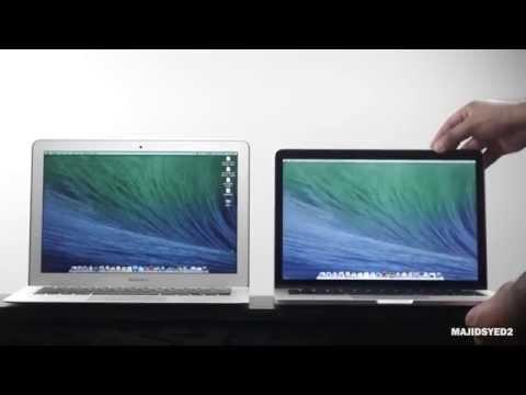 2014 Macbook Air Vs Geç 2013 Macbook Pro Retina