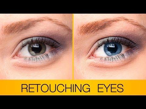 Rötuş Ve Gözleri Photoshop Artırılması