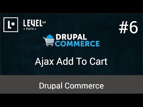 Drupal Ticaret Öğreticiler #6 - Ajax Sepete Ekle