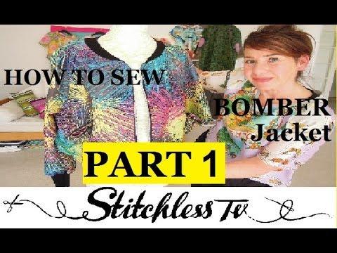 Nasıl Bir Bombardıman Ceket Bölüm 1 Sew İçin