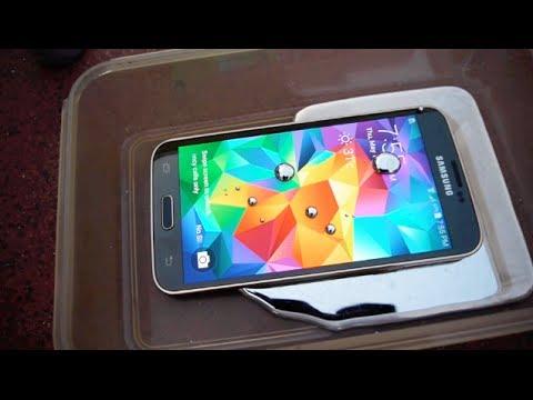 Samsung Galaxy S5 Sıvı Cıva Testinde