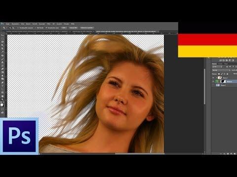 Haare Freistellen Mit Dem Greenscreenverfahren | Photoshop