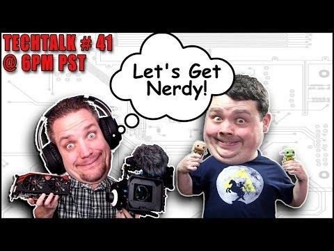 Techtalk 41 Livestream Bu Gece W / Jayztwocents Ve Barnacules