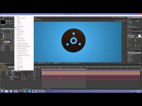 Bir Vektör 3D Yapım Cs6 After Effects Tutorıal - 82-
