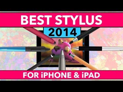 İpad Ve İphone 2014 İçin Stylus En İyi Bir Daha Gözden Geçirme