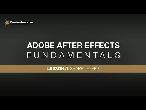Adobe After Effects Temelleri 5: Şekil Katmanları