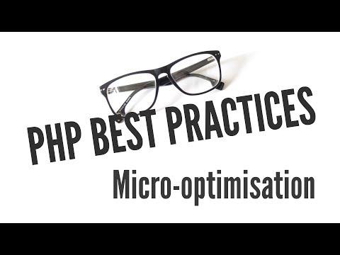 Php En İyi Uygulamalar: Mikro Optimizasyonu (3/11)