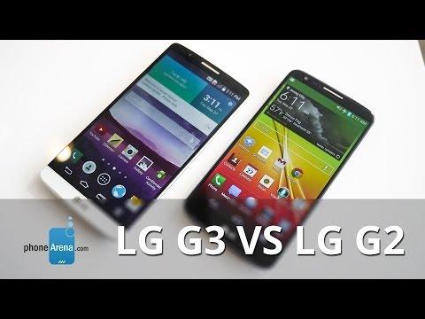 İlk Bakış: Lg G3 Vs Lg G2