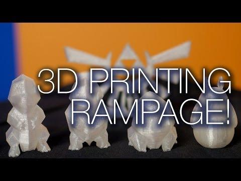 Makerbot 3D Baskı Livestream Test