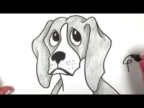 Nasıl Bir Beagle Beraberlik İçin   Köpek Çizim Dersi - Cc