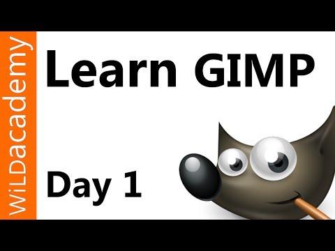 Gımp Ders - 1 Gün - Boyutu Kırpma Döndürme Ve Çevirme