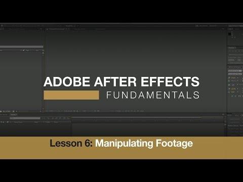 Adobe After Effects Temelleri 6: Görüntüleri Düzenleme