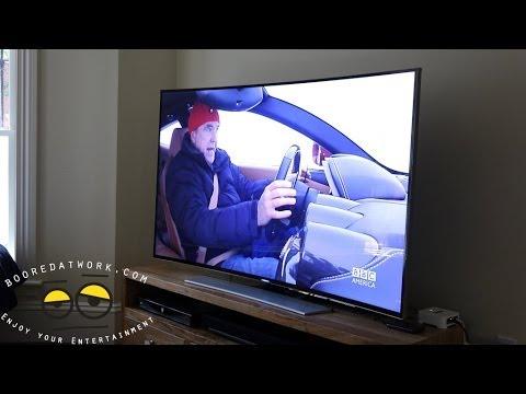 Samsung 65Hu9000 4 K Uhd İnceleme Kavisli!!!
