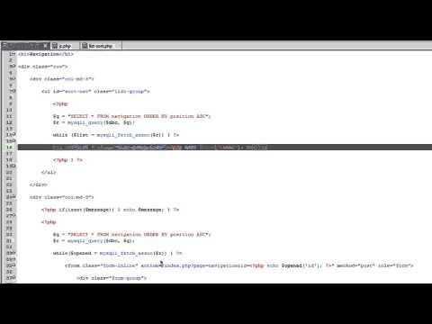 Dinamik Web Sitesi 2014 - Bölüm 90 - Geliştirme