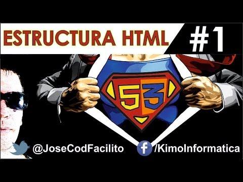Öğretici De Html5 + Css3 - 1 - Estructura Html