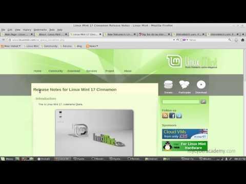 Mycyberacademy İnceleme - 4 - Linux Mint 17 Genel Bakış