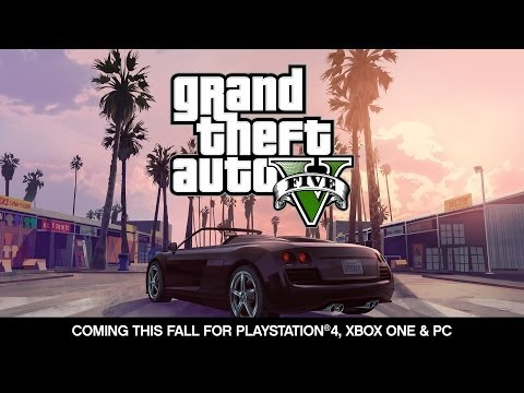 Grand Theft Auto V Playstation 4, Xbox Bir Ve Pc Duyuru Römork
