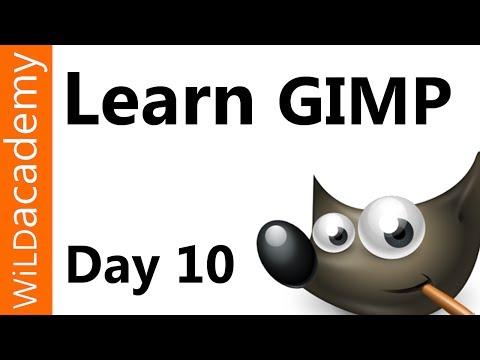 Gımp Öğretici - Day 10 - Yüzler Kadar Temizlemek Nasıl Öğrenin