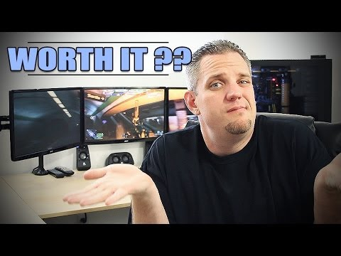 3 Ekran Nvsurround Ve Gtx780 Slı - Buna Değer Miydi?
