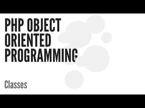 Php Nesne Yönelimli Programlama (Oop): Sınıfları (2/13)