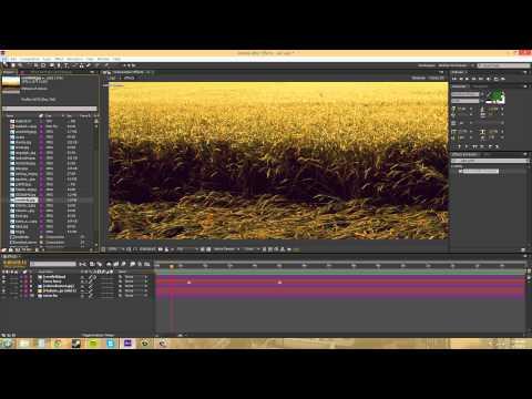 After Effects Cs6 Tutorıal - 164 - Yorumlamak Görüntüleri Ve Renk Profilleri