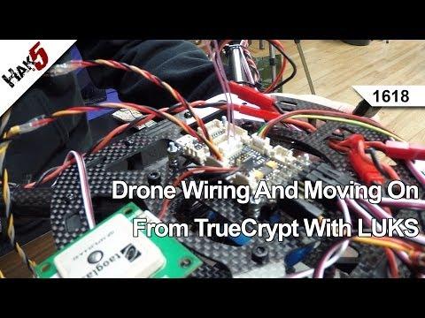 Kablolama Ve Luks, Hak5 İle Truecrypt Taşınılan Robot 1618