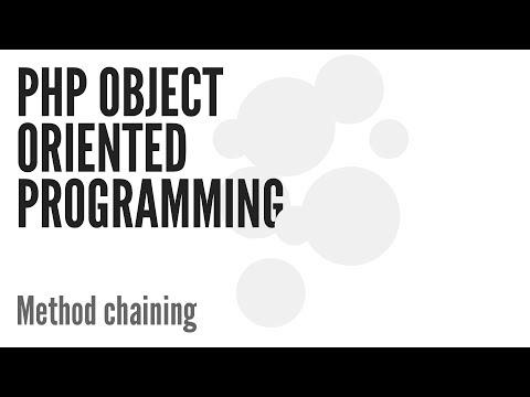 Php Nesne Yönelimli Programlama (Oop): (11/13) Zincirleme Yöntemi