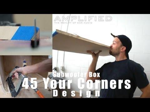 Nasıl 45 Senin Alt Kutu Köşelerine