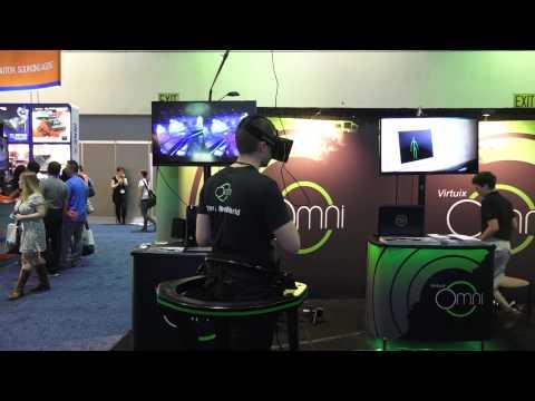 Virtuix Omni Oculus Rift Eller İle