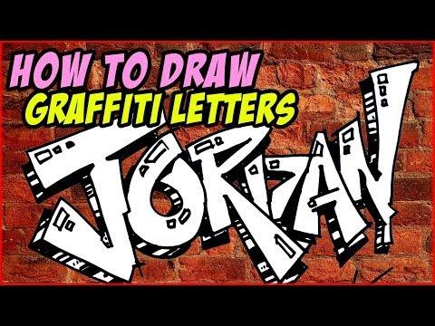 Jordan Nasıl Grafiti Çizmek İçin Mektup   Mat
