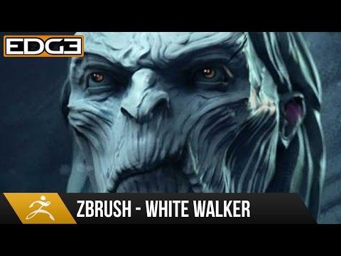 Zbrush Eğitim - Taht Hd Oyunları Üzerinden Beyaz Walker Heykel
