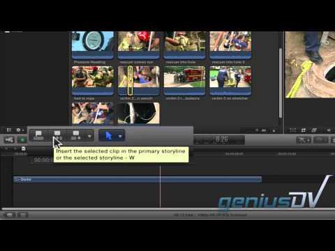 Final Cut Pro X Düzenleme Ekle