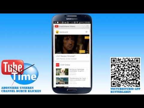 Die Neue Youtube Studio App Für Android | Deutsch