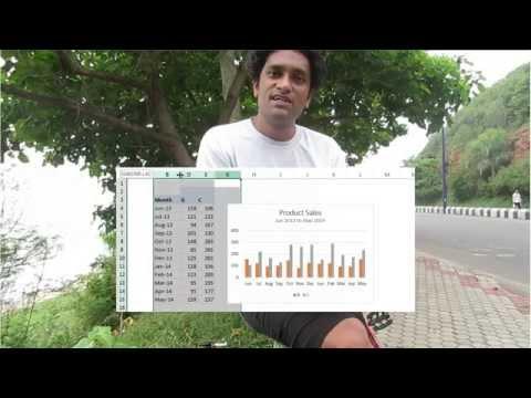 Bisiklet İken Başka Bir Kısa Excel İpucu | Exceltutorials
