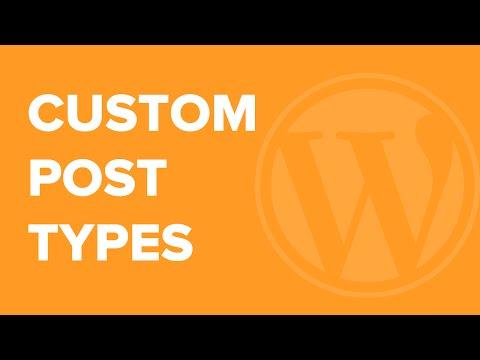 Nasıl Wordpress Özel Mesaj Türleri Oluşturmak İçin
