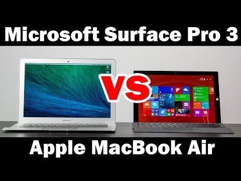 "Microsoft Surface Pro 3 Vs 13"" Macbook Air Tam Karşılaştırma"