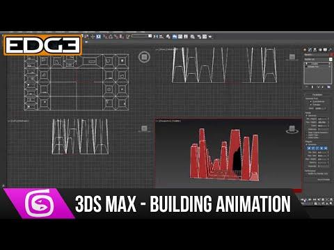 3Ds Max Eğitimi - Yükselen Binalar Animasyon