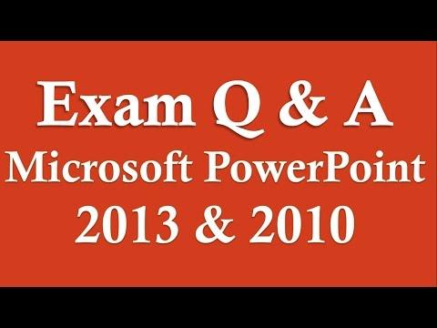 Sınav Hazırlık Powerpoint 2013/2010 (Uzun Versiyon)
