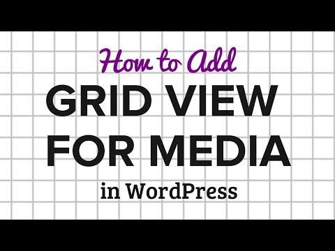 Nasıl Wordpress Tablo Görünümü İçin Ortam Kitaplığı Eklemek